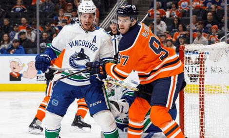 Эдмонтон Ойлерз – Ванкувер Кэнакс: прогноз на матч НХЛ за 14 января