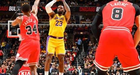 Чикаго Буллз – Лос-Анджелес Лейкерс: прогноз на матч 24 января